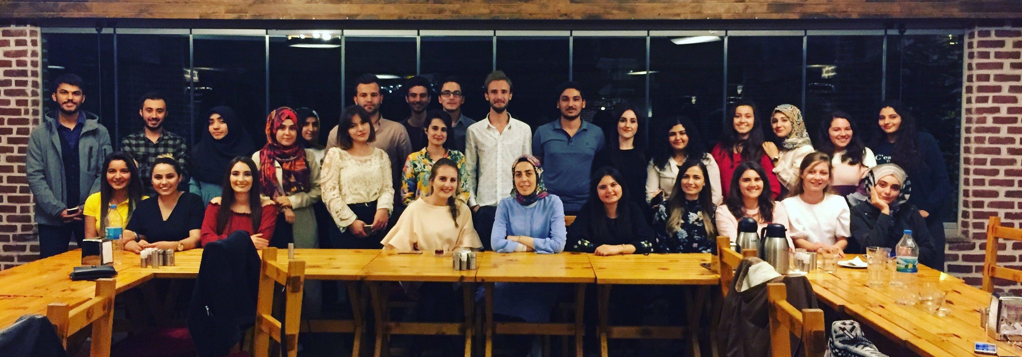 2018-2019 Eğitim-Öğretim Yılı Kimya Mühendisliği Tanışma Yemeği